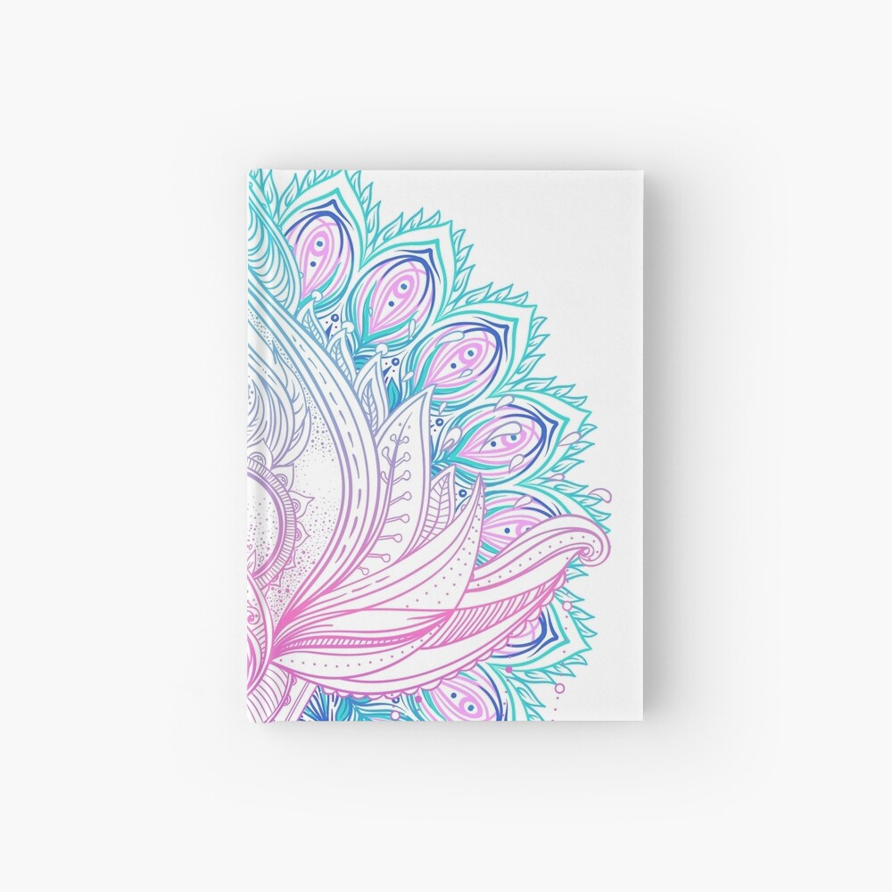 Lotus flower Hardcover Journal