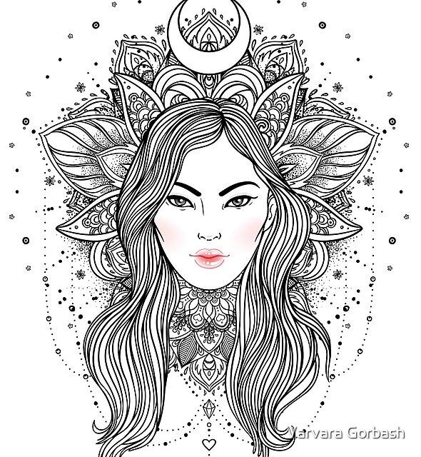 Tribal Fusion Boho Diva by Varvara Gorbash