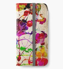 Abstract Expressionism 2 iPhone Wallet/Case/Skin