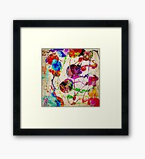 Abstract Expressionism 2 Framed Print