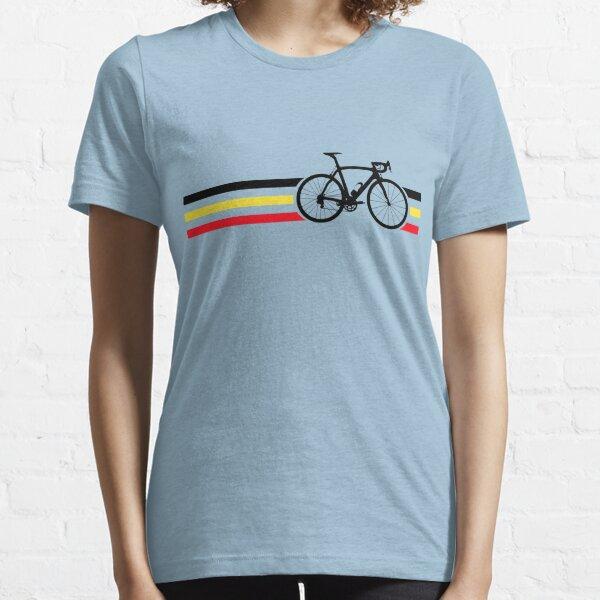 Bike Stripes Belgian National Road Race v2 Essential T-Shirt