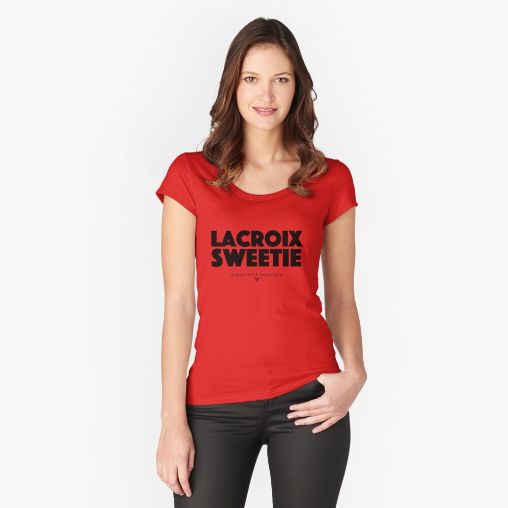Absolut fabelhaft - Lacroix Sweetie Tailliertes Rundhals-Shirt