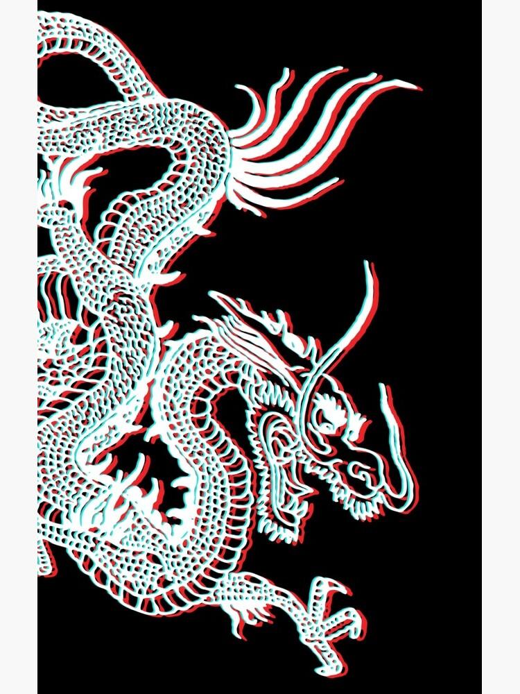 Chinese Dragon Glitch by EddieBalevo