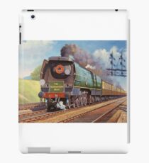 Bullied pacific on the down Bournemouth belle. iPad Case/Skin