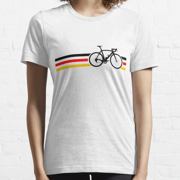 Bike Stripes German National Road Race v2 Essential T-Shirt