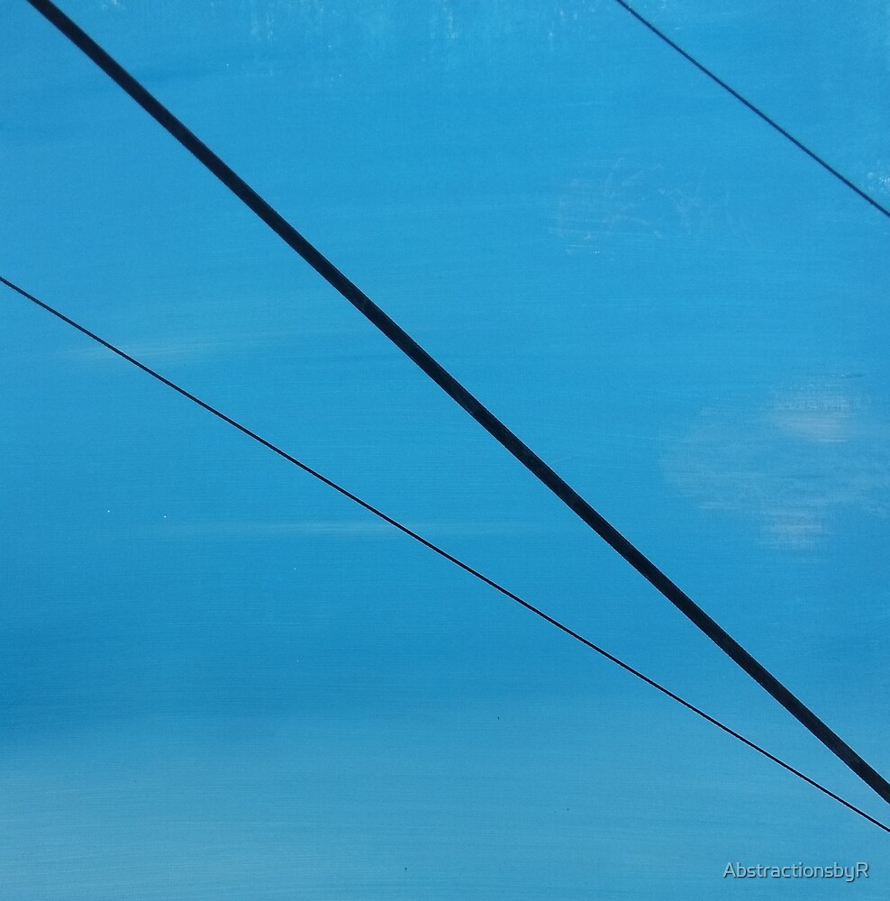 Power Lines 12 by AbstractionsbyR