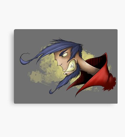 Unhappy Canvas Print