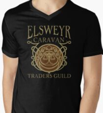 Elsweyr Traders Guild - Tees & Hoodies Men's V-Neck T-Shirt