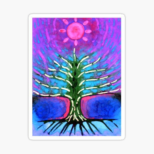 Electric Tree Sticker