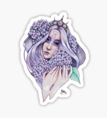 Hydrangea-Fairy Sticker