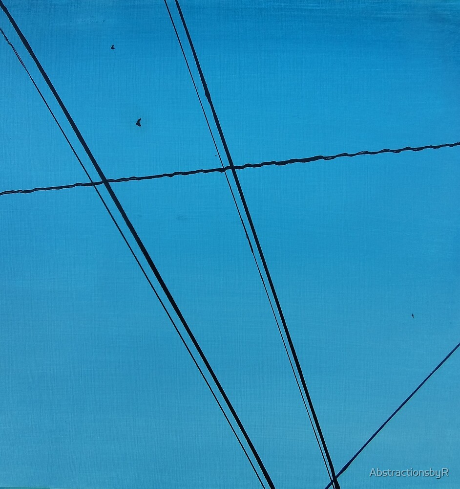 Power Lines 18 by AbstractionsbyR