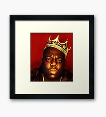 The Notorius B.I.G. (Luke Cage) Framed Print