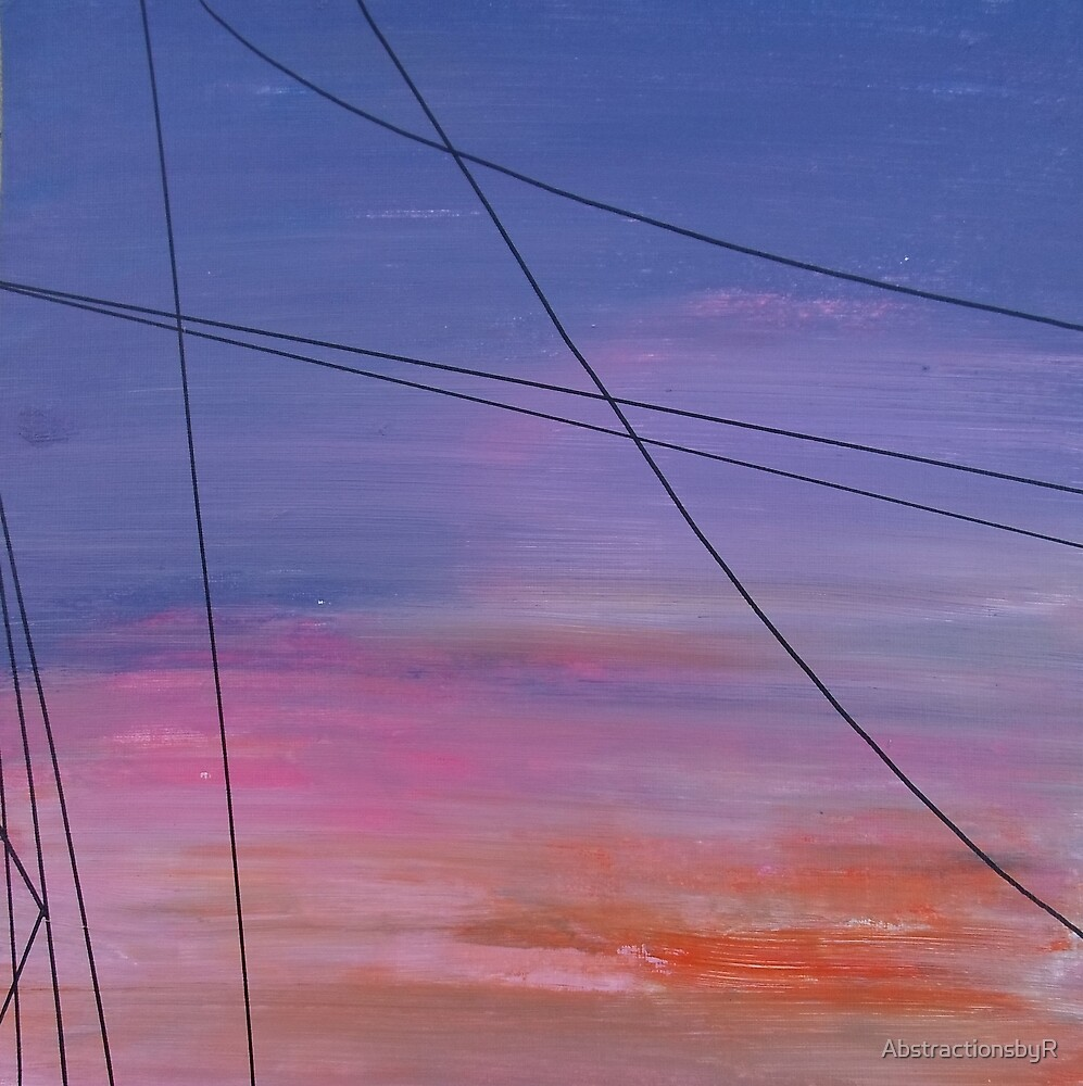 Power Lines 15 by AbstractionsbyR