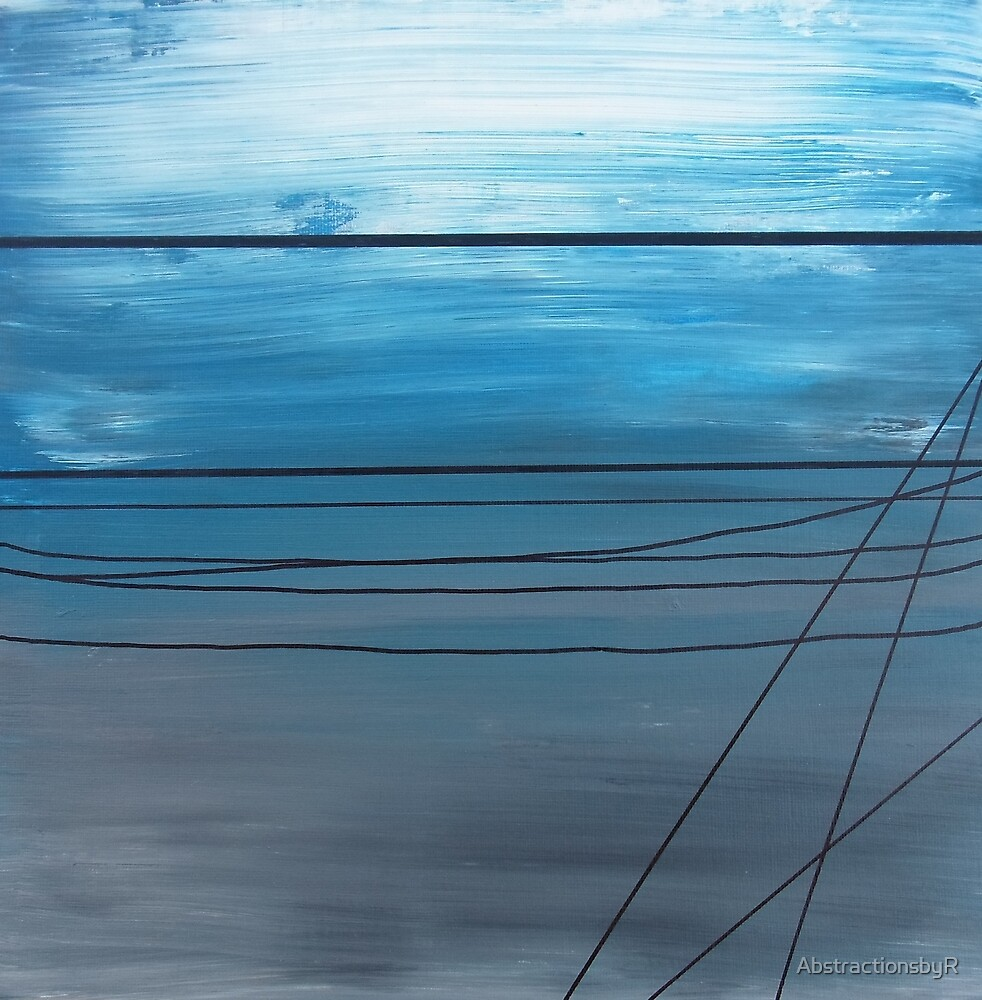 Power Lines 14 by AbstractionsbyR