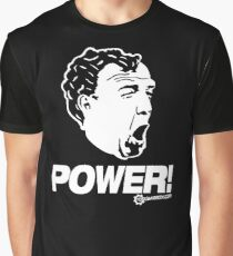 Top Gear - Jeremy Clarkson POWER!! Graphic T-Shirt