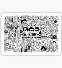 The Lonely Island - Who Said We're Wack Sticker