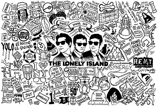 «The Lonely Island - Quién dijo que somos Wack» de aFiendishThingy