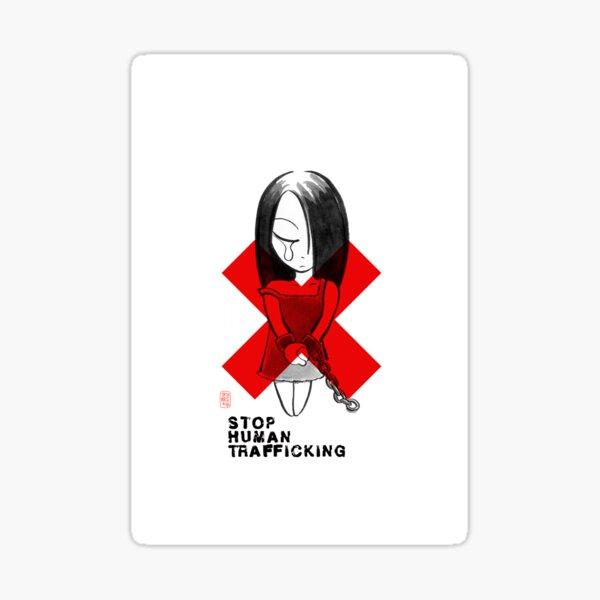 Stop Human Trafficking 01 Sticker