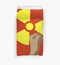 Power of the Atom Duvet Cover