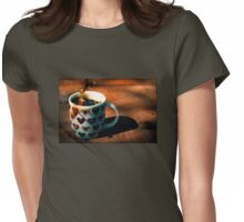 Coffee Love Womens Fitted T-Shirt