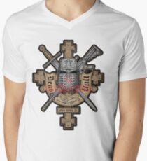 Deus Vult Mens V-Neck T-Shirt