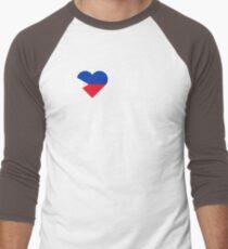 I Love My Hot Filipino Girlfriend Men's Baseball ¾ T-Shirt