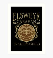 Elsweyr Traders Guild Art Print