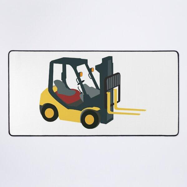 Forklift Truck Desk Mat