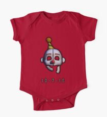 Five Nights at Freddy's - Sister Location Release Date One Piece - Short Sleeve