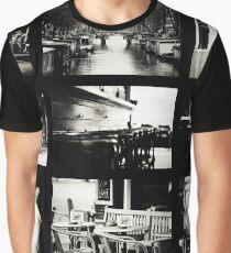 Amsterdam by Jenny Rainbow Graphic T-Shirt