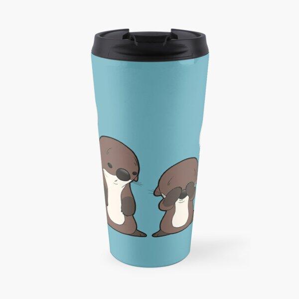 Invisible Otter Travel Mug
