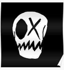 Winky Skull Poster