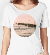 Red Sunset Women's Relaxed Fit T-Shirt