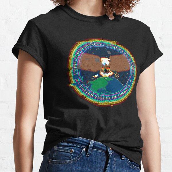 Unidentified Aerial Phenomena Task Force (UAPTF) Insignia - Glitch Classic T-Shirt