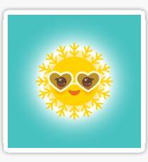 Lovely Sun Sticker