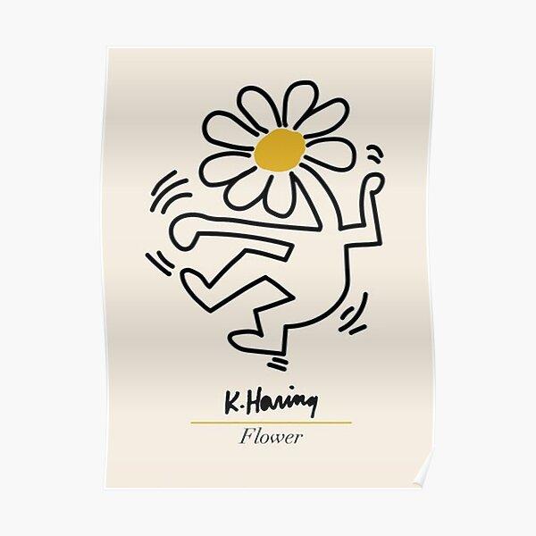 Ästhetisches Haring Tanzplakat Poster