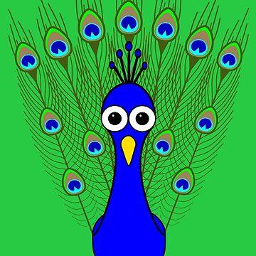Peacock by Inkerbelle