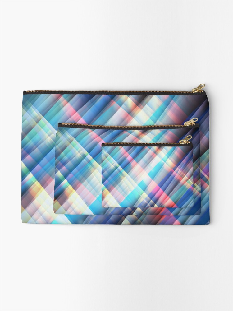 Alternate view of The Curtain of Space Zipper Pouch