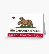 Do You Bear The Bear? - NCR Greeting Card