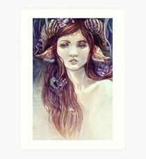 Forest Guardian  Art Print