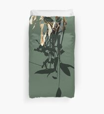 Reflections of Leaves Duvet Cover