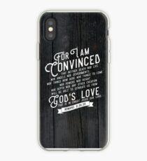 ROMANS 8:38,39 iPhone Case
