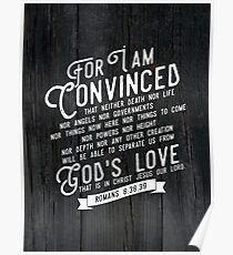 ROMANS 8:38,39 Poster