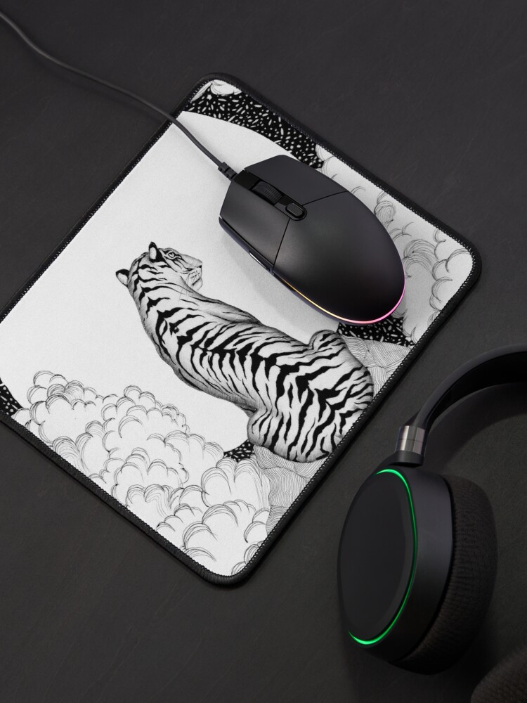 Alternate view of Tiger Moon Mouse Pad