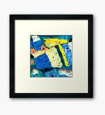 Blue Cuff Framed Print