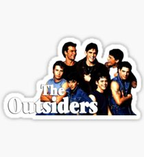 The Outsiders Top Drama Movie Sticker