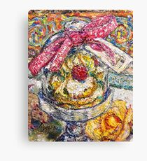 French Pastry Dome Canvas Print
