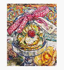 French Pastry Dome Photographic Print