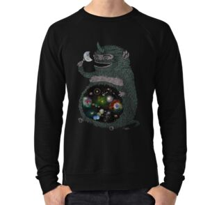 Space junkie spiral notebooks by nichole lillian ryan redbubble lightweight sweatshirt publicscrutiny Gallery