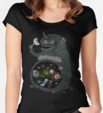 SPACE JUNKIE Women's Fitted Scoop T-Shirt